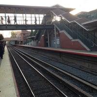 Photo taken at LIRR - Bayside Station by Oscar C. on 10/23/2012