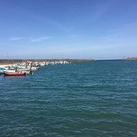 Photo taken at Çarşıbaşı Limanı by Asiye Hacere K. on 4/16/2018