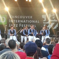 Photo taken at Vancouver International Jazz Festival by Christine W. on 6/30/2013
