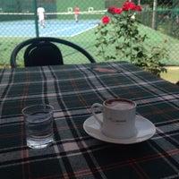 Photo taken at Tenis Kortları by Yasemin U. on 5/28/2016