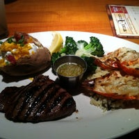 Photo taken at Black Angus Steakhouse by MyRna B. on 1/12/2013