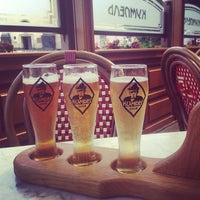 Снимок сделан в Ресторан-пивоварня «Кумпель» пользователем leo k. 7/6/2013
