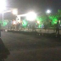 Photo taken at Vasani Green Lawn Party Plot by Kartik P. on 10/8/2013
