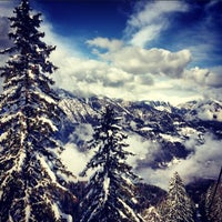 Photo taken at Alp Holiday Dolomiti by Juliet M. on 3/2/2014
