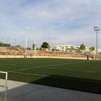 "Photo taken at Escuela Municipal de Rugby ""El Cantizal"" by Taracido on 10/2/2012"