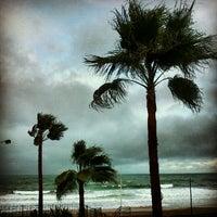 Photo taken at Playa Las Redes by Zai A. on 12/7/2012