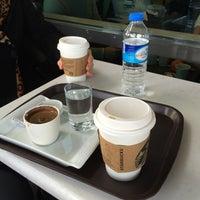 Photo taken at Starbucks by Demet A. on 2/6/2015