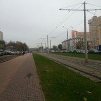 Photo taken at Остановка «Театральная» by Artyom M. on 10/16/2012