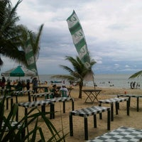 Photo taken at Kemala Beach & Resto by Alfi T. on 1/1/2013