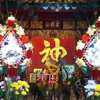 Photo taken at ศาลเจ้าพ่อสระบาป by Kanokwan S. on 1/31/2014
