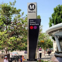 Photo taken at Civic Center Metro Station by Angus N. on 5/22/2013