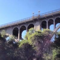 Photo taken at Colorado Street Bridge by Angus N. on 4/20/2013