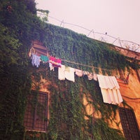 Photo taken at Rione XIII - Trastevere by Siobhan Q. on 8/20/2013