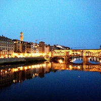 Photo taken at Ponte Vecchio by Elizabeth S. on 7/21/2013