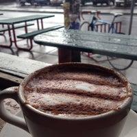 Photo taken at Macy's European Coffeehouse & Bakery by Aissa on 3/2/2014