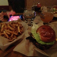 Photo taken at Worthy Burger by Gregg on 2/20/2013