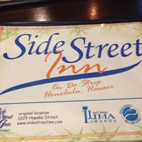 Photo taken at Side Street Inn on the Strip by Spursfanhawaii on 12/9/2012