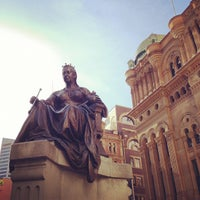 Photo taken at Queen Victoria's Statue by Sto L. on 12/7/2012