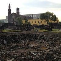 Foto tomada en Zona Arqueológica Tlatelolco por Susana P. el 5/23/2013