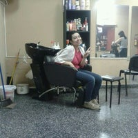 Photo taken at Naomi Coiffure by Vil M. on 7/9/2013