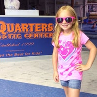 Photo taken at Gymquarters Gymnastics Center by Bryce P. on 7/26/2014