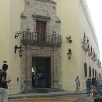 Photo taken at UADY (Edificio Central) by Monse M. on 1/15/2013