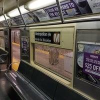 Photo taken at MTA Subway - Middle Village/Metropolitan Ave (M) by Daniel C. on 9/24/2017