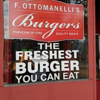 Photo taken at F. Ottomanelli Burgers and Belgian Fries by Daniel C. on 7/26/2017