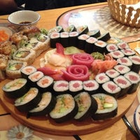 Photo taken at Sushi Tam Da by Maria G. on 12/2/2012