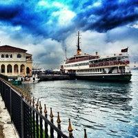 Photo taken at Kadıköy - Beşiktaş / Adalar Vapur İskelesi by Mina Ö. on 2/27/2013