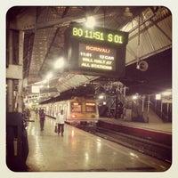 Photo taken at Bandra Railway Station by akash s. on 2/16/2013