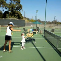 Photo taken at Santa Barbara Municipal Tennis Courts by Chad M. on 9/20/2012