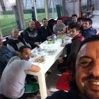 Photo taken at Dolunay Halı Saha by Semih N. on 10/27/2015