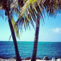 Photo taken at Fort Zachary Taylor State Park Beach by Maria D. on 12/20/2012
