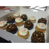 Photo taken at Vanilla Kisses Cupcakes by Heather C. on 1/27/2014