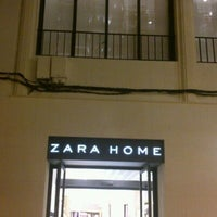 Photo taken at Zara Home by Ricardo A. on 10/5/2012