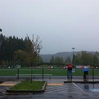 Photo taken at Preston Athletic Fields & Park by JD N. on 4/27/2014