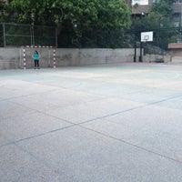 Photo taken at Campo de futbito de Tirma by Roberto P. on 4/30/2014