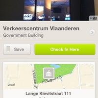 Photo taken at Verkeerscentrum Vlaanderen by Tom V. on 12/24/2013