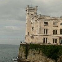 Photo taken at Castello di Miramare by Serena S. on 4/28/2013