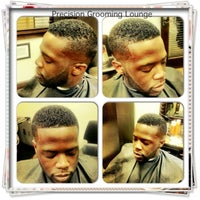 Photo taken at Precision Haircuts Grooming Lounge by Martin W. on 4/25/2013
