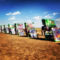 Photo taken at Cadillac Ranch by <3 on 5/20/2013