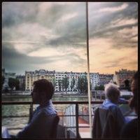Photo taken at La Plage Parisienne by Tony J. on 6/18/2013
