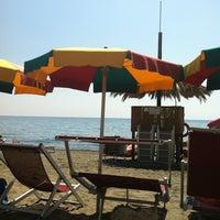 Photo taken at Bagni Marinella by MissMini on 8/17/2013