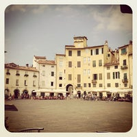 Photo taken at Piazza dell'Anfiteatro by Tim S. on 11/20/2012
