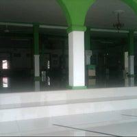 Photo taken at Masjid Besar Al-Izhar Kutoarjo by Muhammad N. on 6/21/2013
