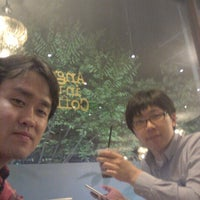 Photo taken at Angel-in-us Coffee by changyup l. on 10/1/2012