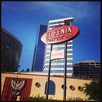 Photo taken at El Fenix Restaurant by Vicken E. on 5/4/2013