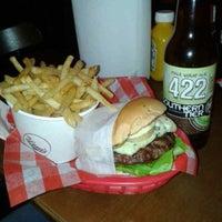Photo taken at St. Louis Burger Shop by Karla P. on 9/13/2013