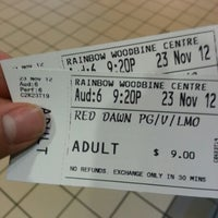 Photo taken at Rainbow Cinema Woodbine by Shawn L. on 11/24/2012
